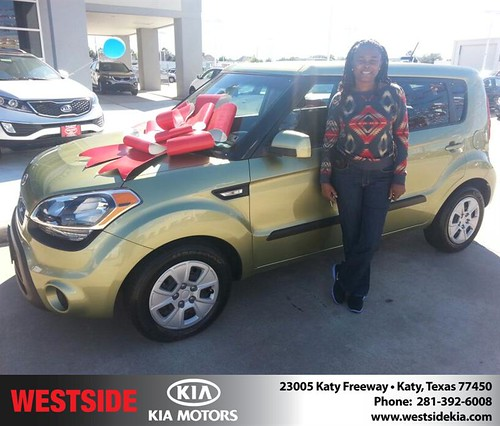 #HappyBirthday to Lillie Thomas from William Hadnott and everyone at Westside Kia! by Westside KIA