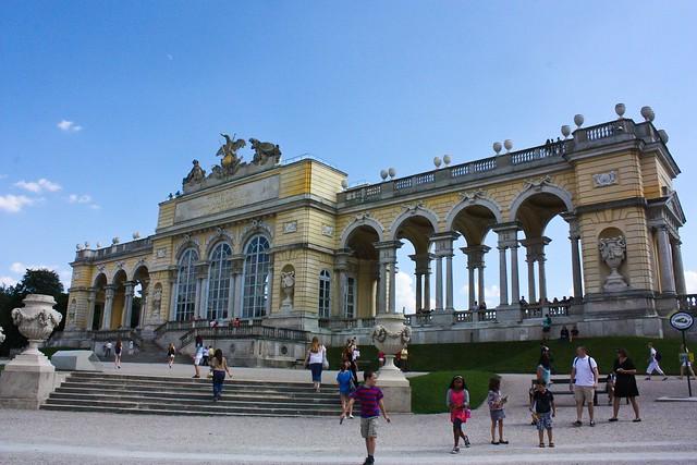 Gloriette, Schonbrunn Palace, Vienna, Austria, palace