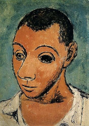 Pablo Picasso - 1906 Autoportrait1