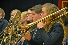 Junior-SYBB:s trombonsektion