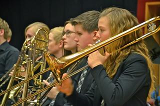 Junior-SYBB:s trombonsektion
