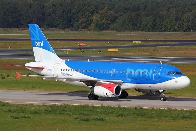 bmi - A319 - G-DBCA (1)