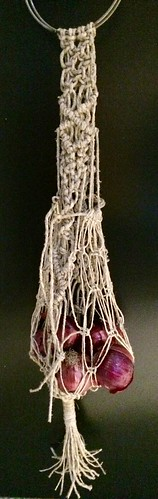 Macrame onion bag