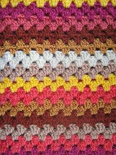 Crochet in Autumn colours
