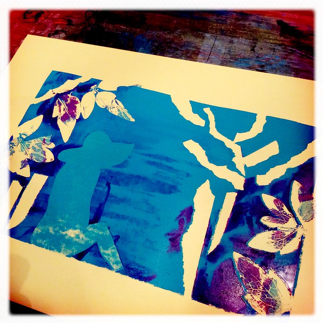 screen printing experiments