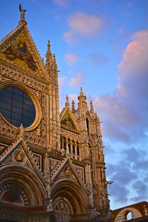 Sunset on the Duomo di Siena [EXPLORE]