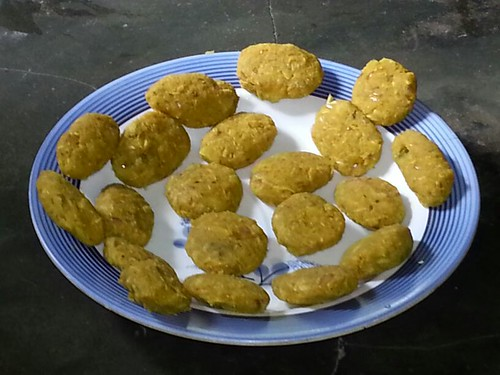 Fish Cutlets is the common term for cutlets made from fish