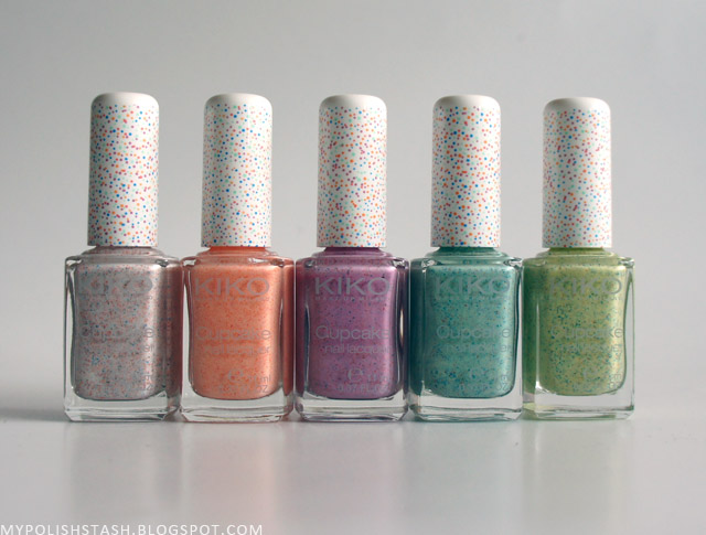 New In My Stash Vol 7_Kiko Cupcake Nail Lacquer