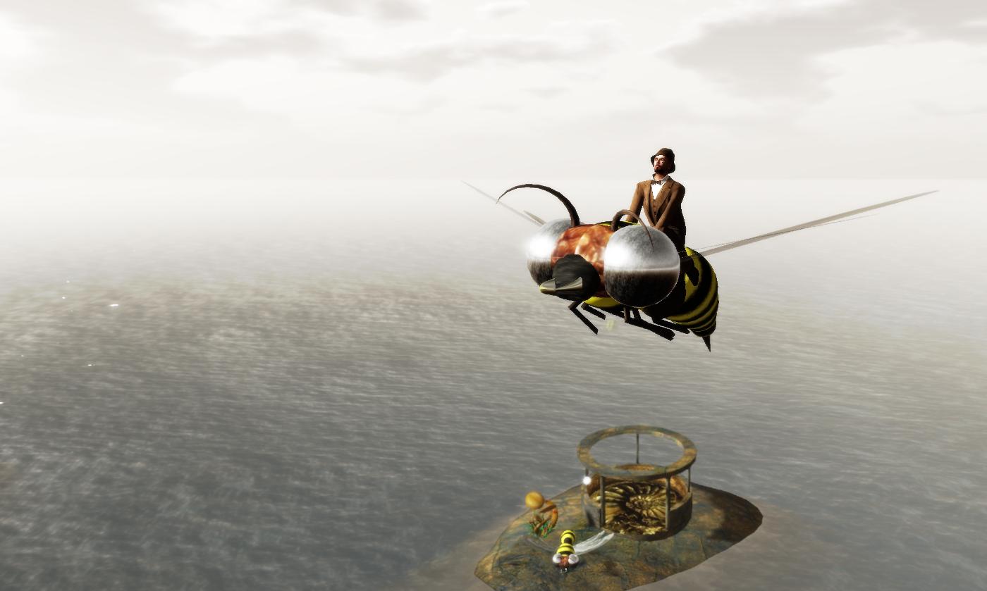 Ricco rides a wasp