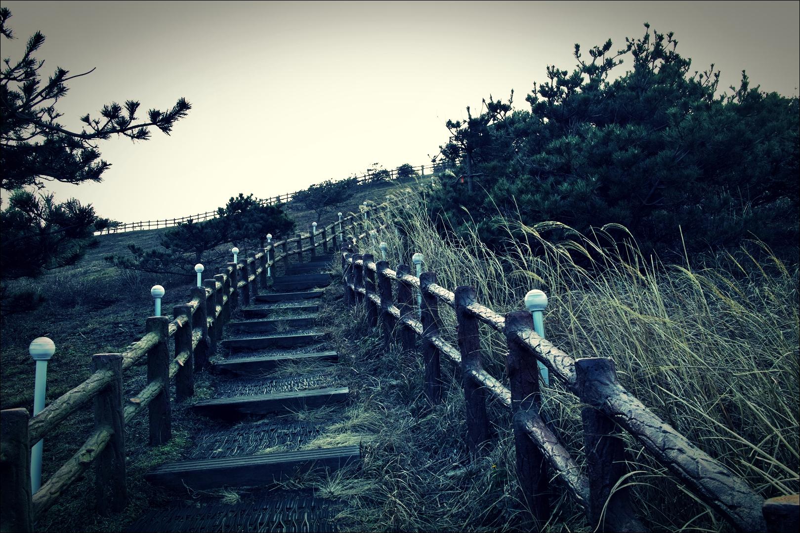계단-'우도봉'