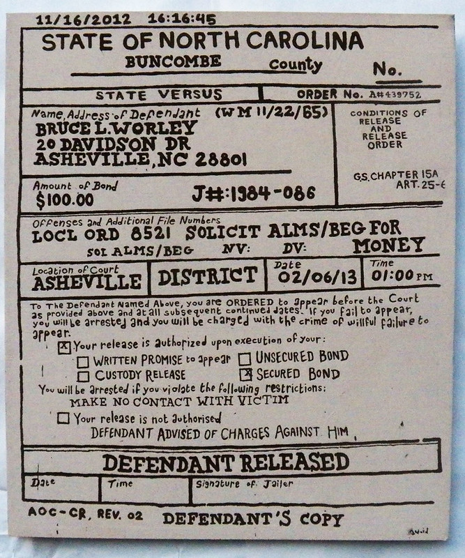 asheville ticket original