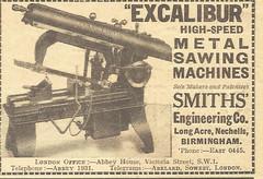 Smiths Engineering Advert