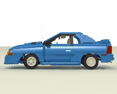 1994 Mustang GT side left