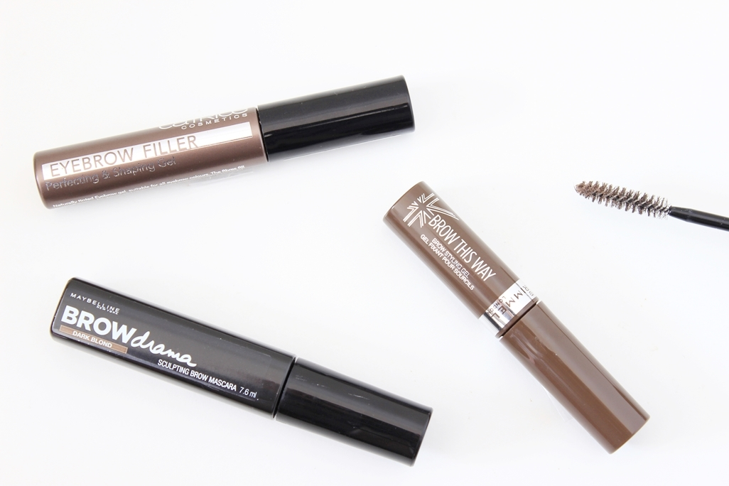 Drugstore Brow Gel Roun Up Maybelline Catrice Rimmel London