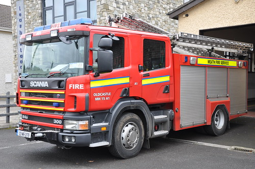 Meath Fire & Rescue Service 2003 Scania 94D 310 Sidhean Teó WrL 03MH2179
