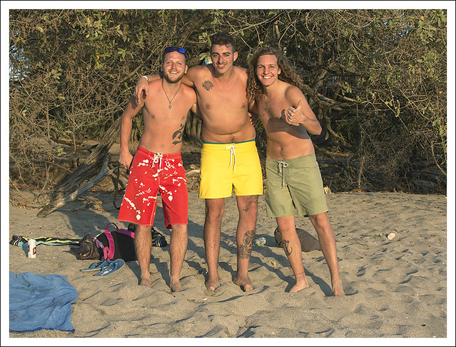 Three Italian Guys Playa Langosta2015-02-14
