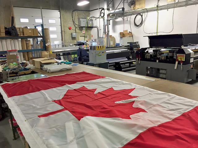 A Visit to The Flag Shop in Vancouver