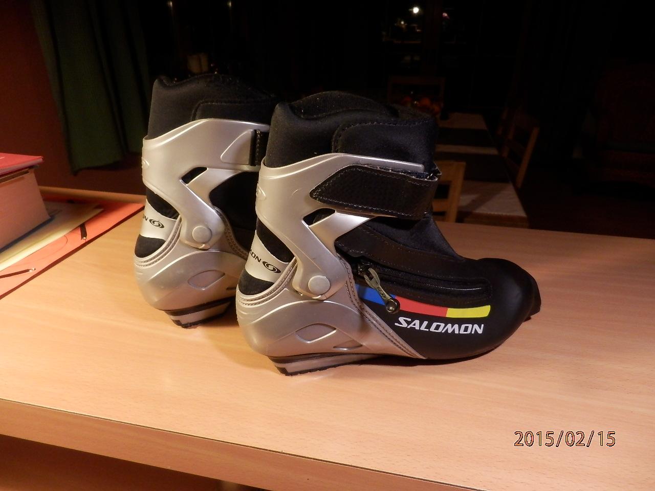SALOMON junior boty na běžky c050248e41