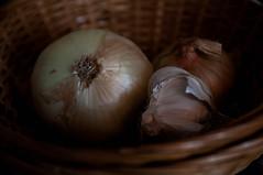 49/365: onions and garlic