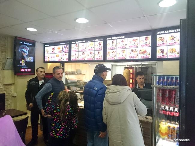Snack Ankara interior
