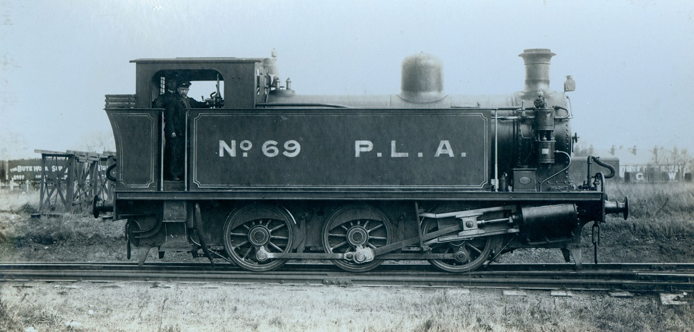 Locomotive built for the Port of London Authority