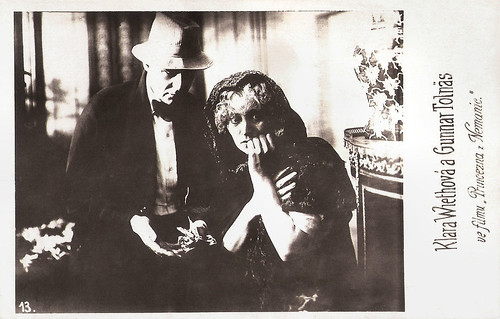Clara Wieth and Gunnar Tolnaes in Stodderprinsessen (1920)