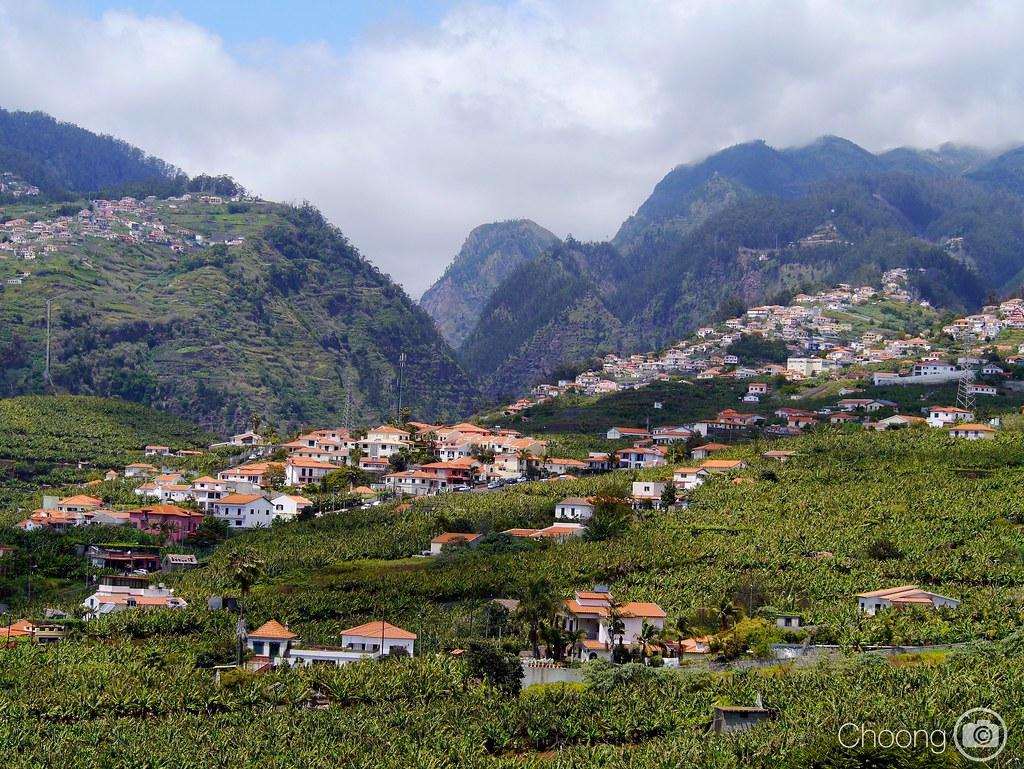 Somewhere in Funchal #funchal #madeira #green #mountain #Panasonic