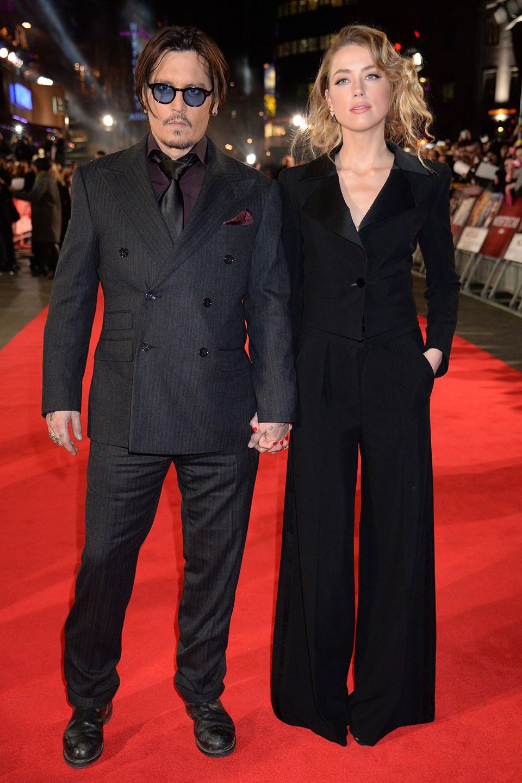 Джонни Депп с молодой женой