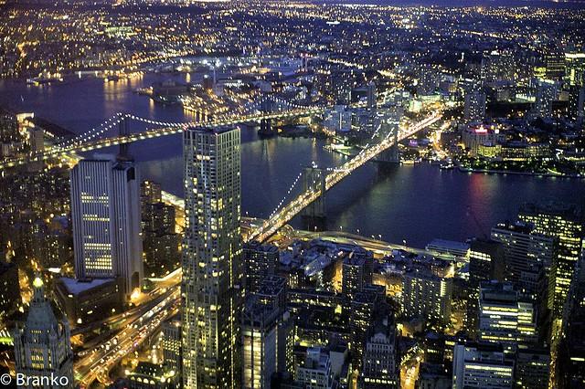 manhattan & brooklyn bridges nyc