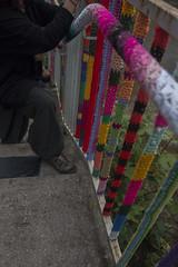 Yarn bombing Besançon 41