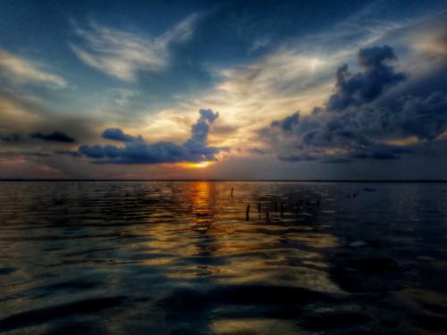 sunset water clouds bay cloudporn perdido cloudart skyporn galaxys7