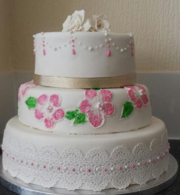 Hafsa's Aqiqah Cake by Neelab Fazli of M n M Cakes