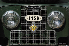 Land Rover Radiator Badges