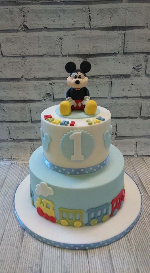 Mickey Mouse Cake by Nanny Cook's Cakes