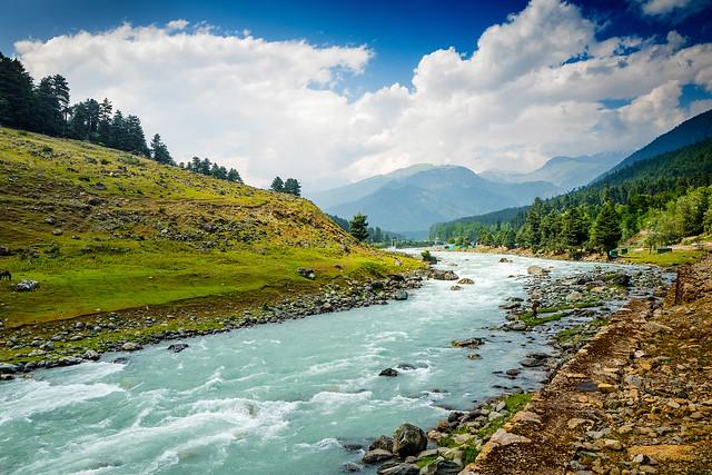 Lidder River, Pahalgam.