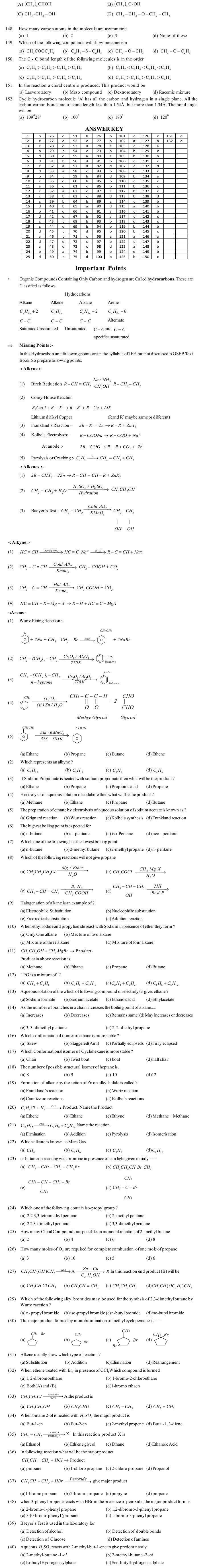 JEE and AIPMT Question Bank: Chemistry - Basic Principles Of Organic Chemistry