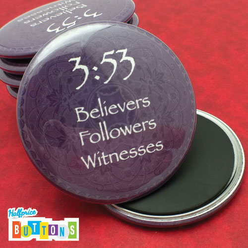 2_25_round_magnets_inspirational by Sign Factory / Half Price Buttons