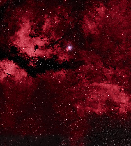 IC1318 - The Gamma Cygni Nebula by Mick Hyde