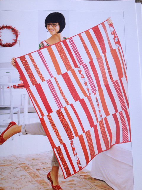 Sew Red quilt