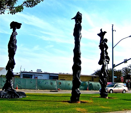 herb's totems at 26th street & olympic