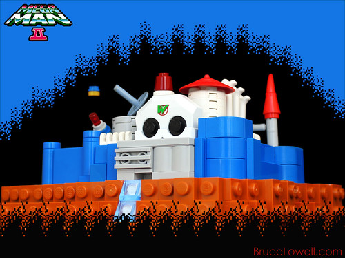 LEGO Dr Wily's Castle