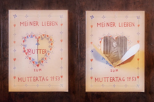 , Mother`s Day Card from my Mother for her Mother – Muttertagskarte 1953, Family Blog 2020, Family Blog 2020