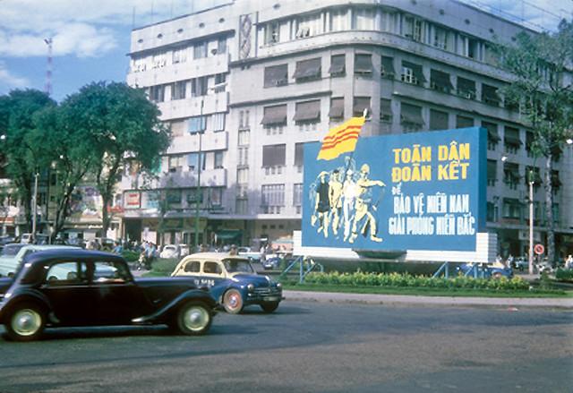 War poster, Saigon 1965