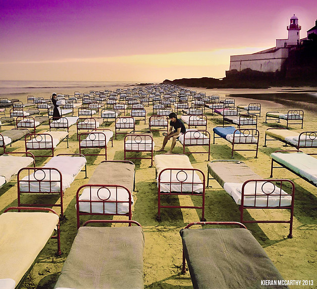 Tribute to Storm Thorgerson - A Momentary Lapse Of Reason At Youghal Lighthouse