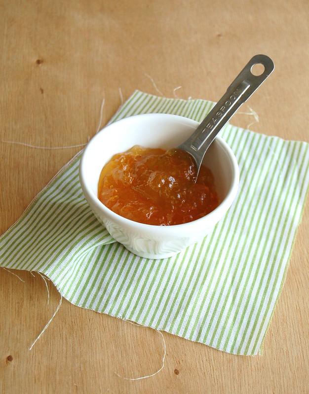 Marmalade muffins / Muffins de geléia de laranja