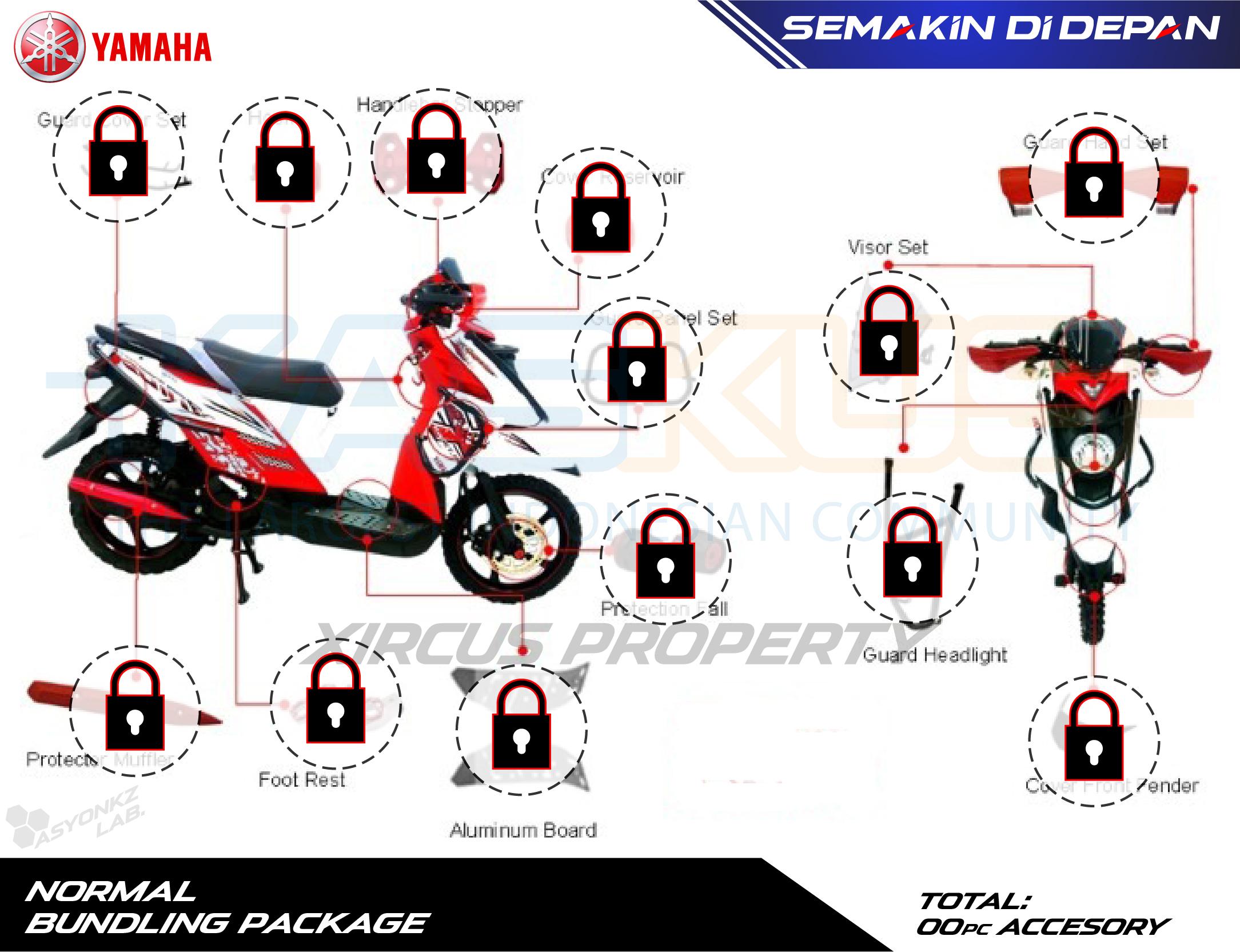 Serba serbi yamaha x ride kaskus altavistaventures Choice Image