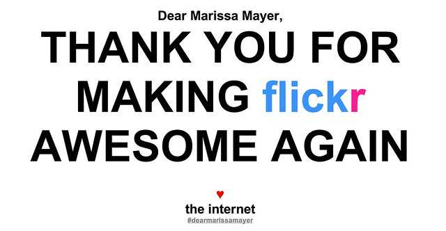 Dear Marissa Mayer