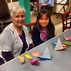 We had fun in the origami class tonight! #origami #class