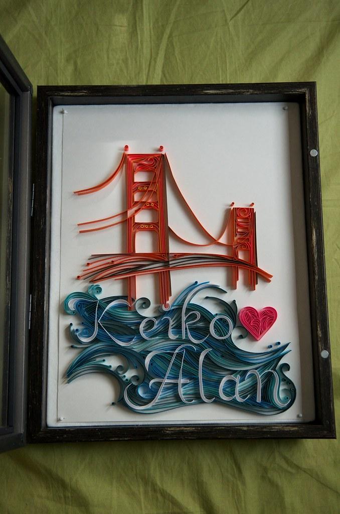 Keiko & Alan's Quilled art
