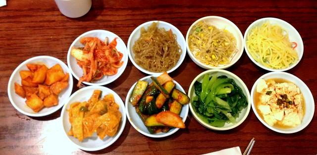 Assorted Korean Kimchi